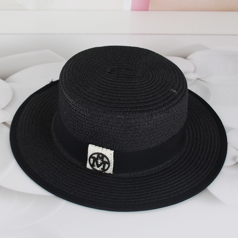 Chapéu de praia de palha chapéu feminino