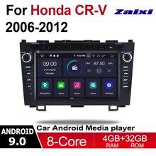 ZaiXi 2 Din Car Multimedia Player Android 9 Auto Radio For Honda CR-V CRV 2006~2012 DVD GPS 8 Cores 4GB 32GB Bluetooth for honda crv cr v 2007 2008 2009 2010 2012 video radio support 4g ownice c500 9 octa 8 core car gps dvd android 6 0 2gb 32gb