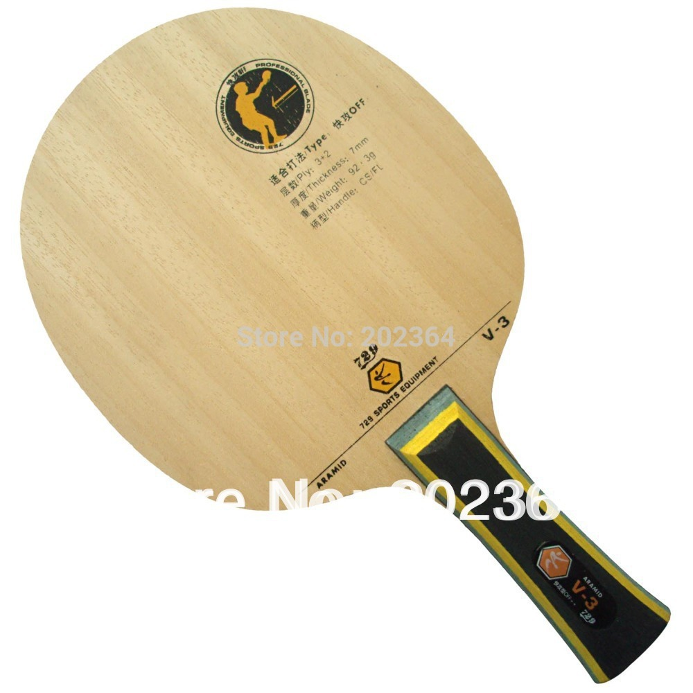 где купить RITC 729 Friendship V-3 (V3, V 3) 3 Wooden + 2 Arylate-Carbon, OFF++ Table Tennis Blade for PingPong Racket по лучшей цене