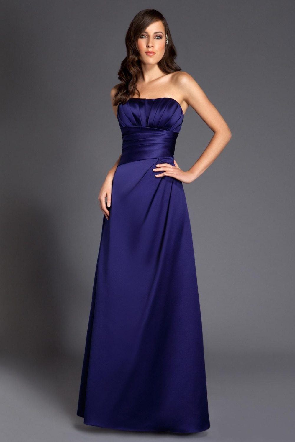 Maid of honor sexy formal cheap 2015 dark navy blue bridesmaid maid of honor sexy formal cheap 2015 dark navy blue bridesmaid dresses long floor length beach dress plus size for wedding in bridesmaid dresses from ombrellifo Image collections