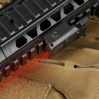Ppt mira laser tático ponteiro laser vermelho vermelho visão laser para airsoft arma caça glock 1911fit 21mm montagem em trilho OS20-0035