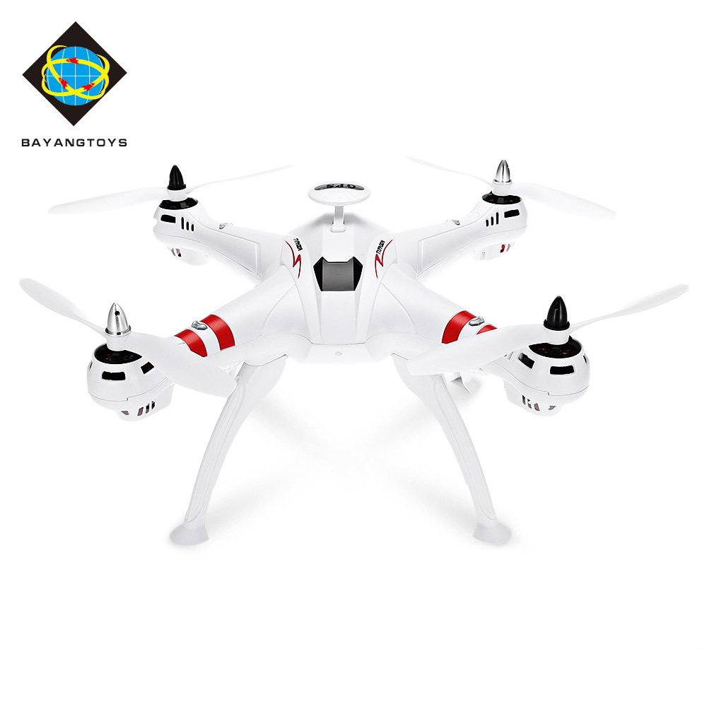BAYANGTOYS X16 GPS Brushless RC Quadcopter RTF Geomagnetic Headless Mode / Altitude Hold / Automatic Return GoPro Compatible jjrc h12wh wifi fpv with 2mp camera headless mode air press altitude hold rc quadcopter rtf 2 4ghz