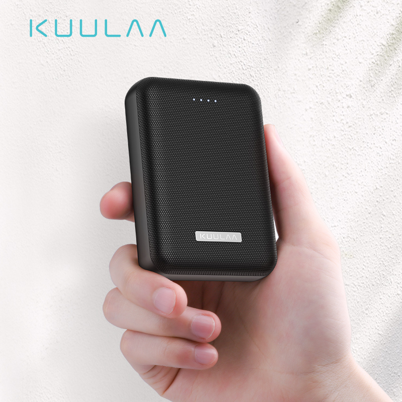 <font><b>KUULAA</b></font> <font><b>Power</b></font> <font><b>Bank</b></font> 10000mAh Portable Charge Pover <font><b>Bank</b></font> <font><b>10000</b></font> <font><b>mAh</b></font> Dual USB Mini External Battery Charger For Xiaomi Mi 8 PoverBank image