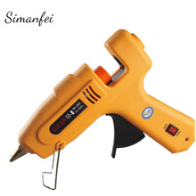 60-100W DIY Hot Melt Glue Gun + 10Pcs Glue Sticks Electric Silicone Gun Repair Heat Tool
