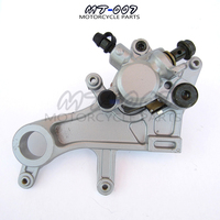 Rear Brake Caliper pump with Good Pads for 2004 2012 CR125 CR250 CRF250 CRF450 X R xmotos kayo parts Free shipping