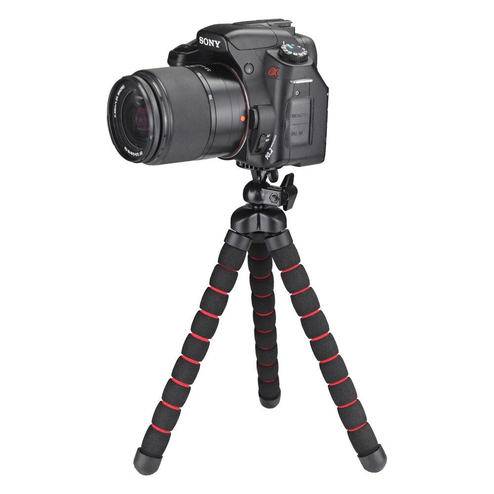 Soporte de trípode DV de cámara portátil flexible de pulpo - Cámara y foto