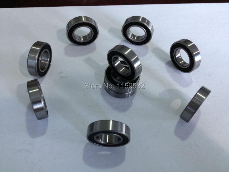 ABEC-7 6000 RS 6000-2RS 180100  10*26*8 MM 10x26x8 MM 6000RZ Glassing Bicycle Bike Hub Shaft Motor Tools Machine Bearing 6000RS