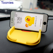 Auto Accessories Interior Popular Cartoon Clip Anti Slip Pad Phone Navigation Bracket Smart Fortwo Forfour Decor Car-styling Toy