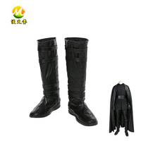 Movie Star Wars 8 Kylo Ren Boots Halloween Black Shoes Carnival Accessories For Adult High Quality