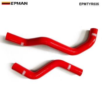 Kit de manguera de radiador Intercooler de silicona para Toyota Alteza SXE10 RS200 (2 piezas) EPMTYR035