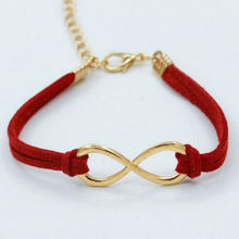 1 Pcs Sell Fashion New Jewelry Accessories Simple Colorful 8 Shape Velvet Bracelets Women Engagement Gifts For Girls One 2018(China)