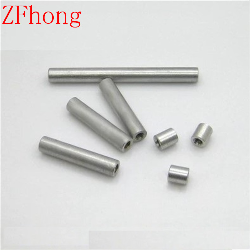 20pcs M2 Aluminum Round Standoff Spacer For RC Parts Length 6mm to 50mm image