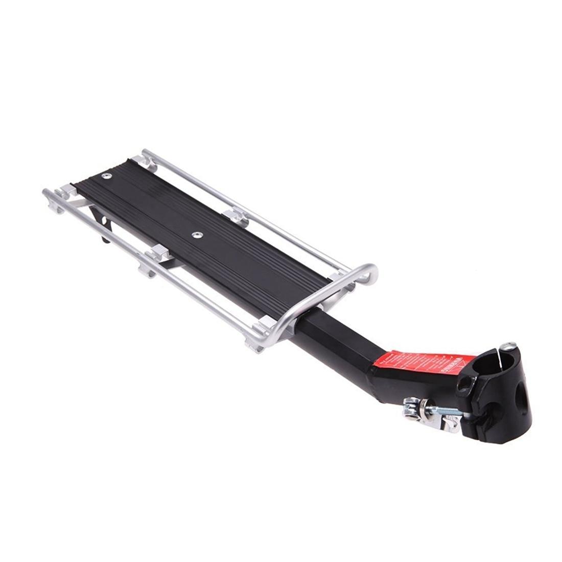 Good deal MTB Bicycle Carrier Rack Seat Post Rear Shelf Aluminum Alloy Outdoor TE Q8G2