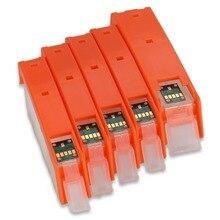 5 цветов PGI-470 CLI-471 пустой многоразовый картридж для Canon PIXMA MG5740 MG6840 TS5040 принтер PGI470XL PGBK BK C M Y