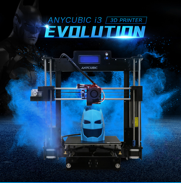 Anycubic 3D printer impresora 3d Newest Upgrade imprimante 3d Prusa i3 3d printer Kit High Precision Ultrabase Platfrom (2)