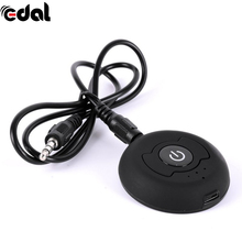 Black Multi-point Wireless Audio Bluetooth Transmitter Music Stereo Dongle Adapter For TV Smart PC MP3 H-366T Bluetooth 4.0 A2DP