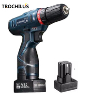 25V Cordless Screwdriver Multifunction Power Tool Rechargeable Miniature Electric Screwdriver With Lithium Battery 2