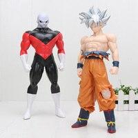 BIG 30cm New Arrival Dragon Ball Z Super Ultra Instinct Goku Migatte no Goku Jiren PVC Action Figure Model Toys