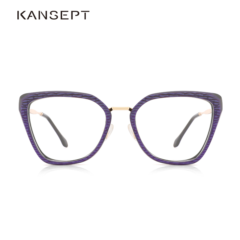 Acetate Women Eyeglasses Frame Fashion Sexy Spectacles Computer And Reading Optical Glasses Frame For Women Eyewear#9008