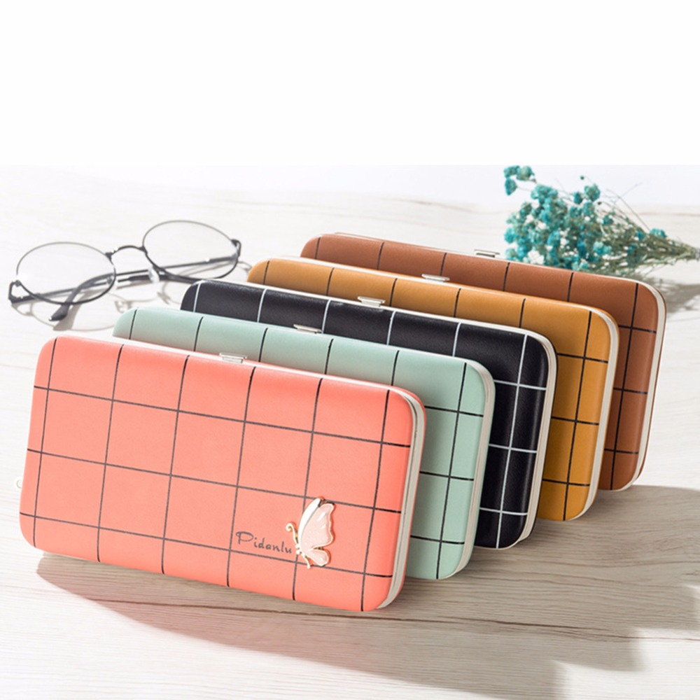 Big Capacity Women Wallets Fashion Ladies Clutch Wallet Leather Bags ID Card Holders Cell Phone Cash Wallet Female Purses Bolsas