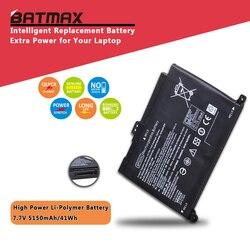 7,7 V 41wh 5150 mAh portátil BP02XL batería para HP Pavilion PC 15 15-AU 849909-850 (F9-21) 849569-421 HSTNN-LB7H BP02041XL