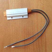 1 шт. 24 В 55C термостат PTC алюминиевый нагревательный с монтажным отверстием для мини-поверхность инструмента-изолированный