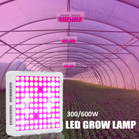 Garden LED Grow Light Lamp 300/600W Full Spectrum Red/Blue/White/UV/IR For Indoor Plants Greenhouses Plants Home Flowers