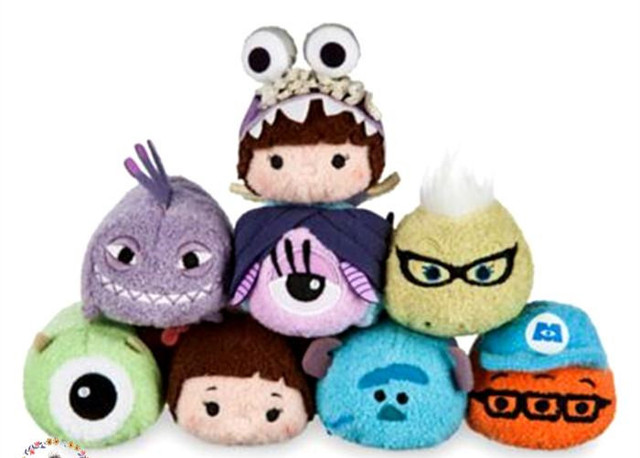 US $3 99 |Rare Monsters Inc  Sullivan Roz Randall Cute Mini Plush Toy Doll  Birthday Children Christmas Gift -in Stuffed & Plush Animals from Toys &