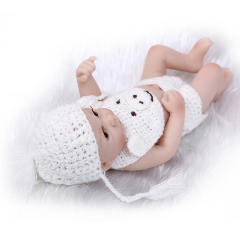 11 Inch Silicone Soft Realistic Cute Baby Doll Simulation Mini Baby Shower  House Toys To Accompany Sleep In Dolls From Toys U0026 Hobbies On  Aliexpress.com ...