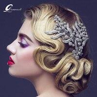 Bridesmaid Hair Comb Women Wedding Hair Accessories Leaves Bridal Headpiece Hair Accessories Wedding Jewelry Bridal Hair