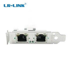 Image 4 - LR LINK 2202PT 인텔 I350 미니 PCI Express 네트워크 어댑터 듀얼 포트 기가비트 이더넷 Lan 카드 2xRJ45