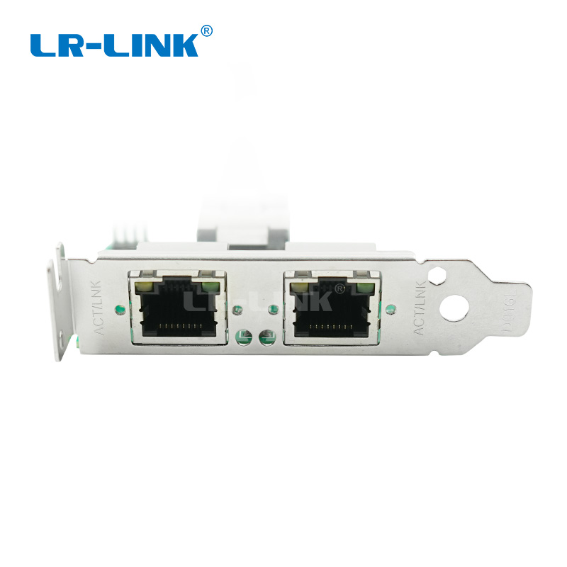 Image 4 - LR LINK 2202PT Mini PCI Express Gigabit Ethernet Network Card 10/100/1000Mbps Dual Port RJ45 Lan Adapter Intel I350-in Network Cards from Computer & Office
