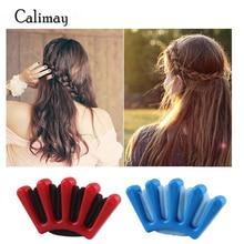 2pcs/lot Sponge Hair Braiding Machine Women Lady Girls DIY F