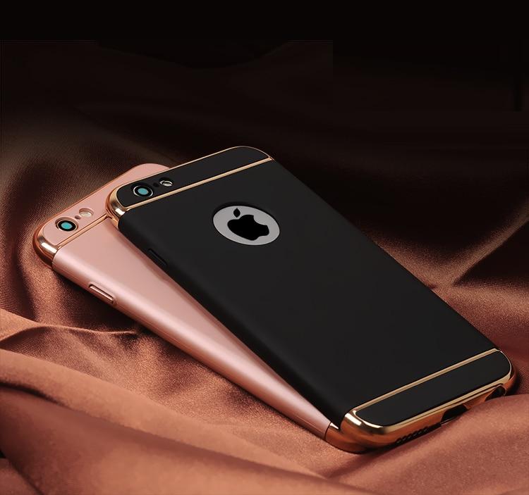 JAMULAR Hard Case Untuk iphone 7 6 6 S 5 S SE X 10 8 Ditambah Penutup - Aksesori dan suku cadang ponsel - Foto 4