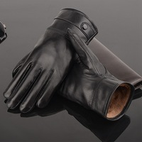 New Arrival Men Gloves High Quality Genuine Leather Gloves Warm Winter Golves For Men Outdoor Fashion