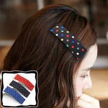 Hot Sale Solid Color Dot BB Clip Gifts Korean Graceful 2018 1PC Hair Clips Barrettes