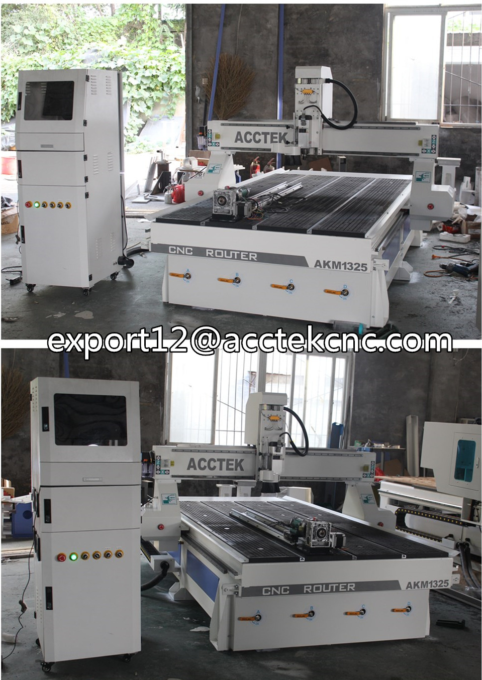 Wood Cnc Milling Machine 4axis Price 1325 Cnc Router China Price