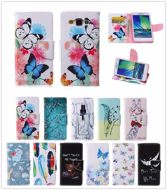 Flip Case for Samsung Galaxy A5 2015 A 5 500 A500 A500FU Case Phone Leather Cover SM-A500FU A500F A500F1 SM-A500F SM-A500F1