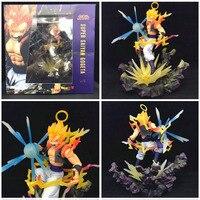 Anime figura dragon ball Super Saiyan goku Vegeta Vegetto Fusão gogeta PVC action figure toy model collection