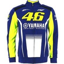 2017 Валентино Росси VR46 M1 для Yamaha фабрика Racing Team Moto GP Взрослых Толстовка Спортивная Толстовка куртки синий