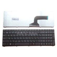 Новая русская клавиатура для ноутбука Asus K53 X55A X52F X52D X52DR X52DY X52J X52JB X52JR X55 X55C X55U K73B NJ2 RU черная клавиатура для ноутбука