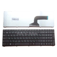 NOVO Teclado Russo para Asus K53 X55A X52F X52D X52DR X52DY X52J X52JB X52JR X55 X55C X55U K73B NJ2 RU preto do teclado do portátil