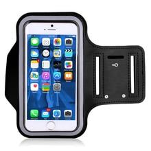 купить Sport Mobile Phone Holder Case For iphone 7 plus XS Handphone Bag Armband For Huawei Xiaomi Phone Cover Size 4''-6.5'' On Hand дешево