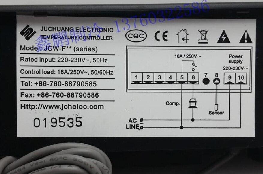 Zhongshan Juchuang JCW-F**  Thermostat knob JCW F ** digital thermostat digital temperature controller zhongshan juchuang jcw f05hv microcomputer temperature controller thermostat refrigerator freezer stars