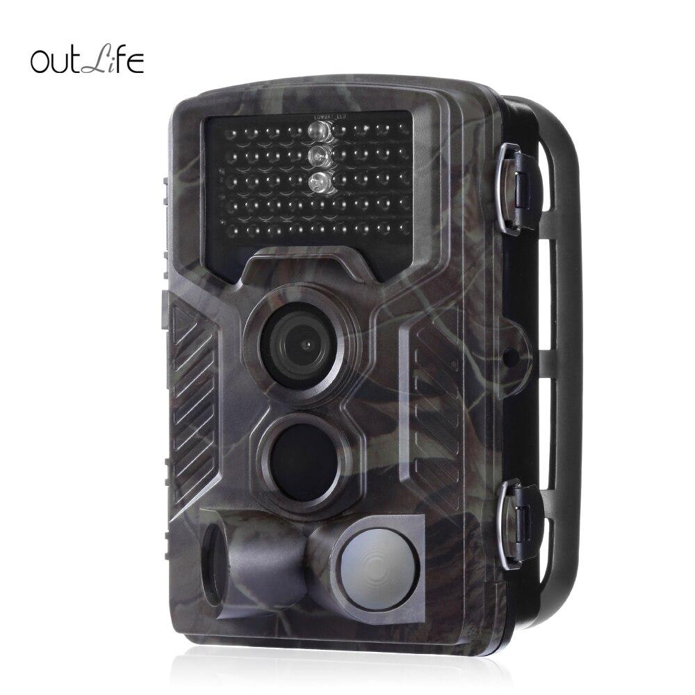Caméra de piste de chasse HC-800M Outlife sans fil étanche chasse sauvage caméra de Vision nocturne infrarouge GSM GPRS caméra de pièges numériques - 2
