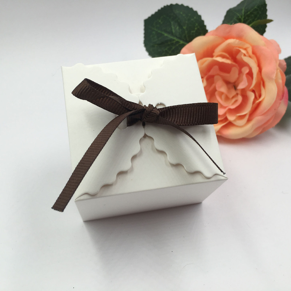 12pcs/lot Retro Mini Kraft Paper Box,DIY Wedding Gift Favor Boxes ...