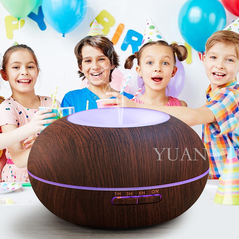 ФОТО Portable 300ml Aroma Essential Oil Diffuser Mini Wooden Grain Aromatherapy Humidifier Air Humidifier Water Mist Maker Fogger