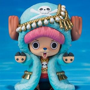 Image 3 - Nuovo One Piece Action Figures Anime Carino Tony Tony Chopper Renna ornamenti giocattoli bambola regalo di Modelli in pvc collezione Figurine WX262