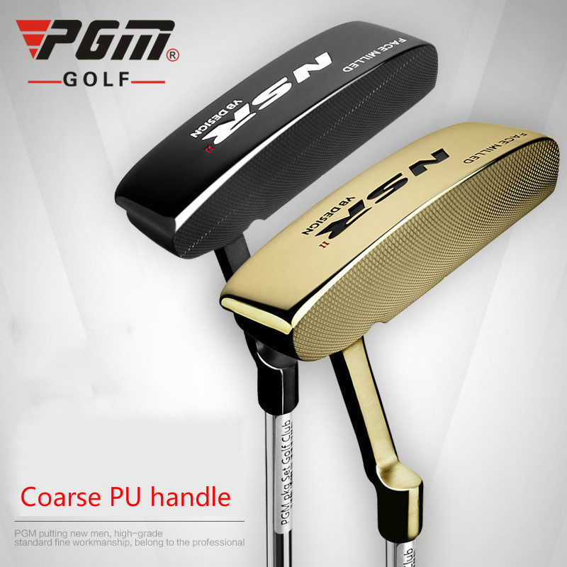 PGM Golf Club NSR men's gold black gold putter special pgm golf club sand bar practice special digging rod stainless steel knife back design wholesale