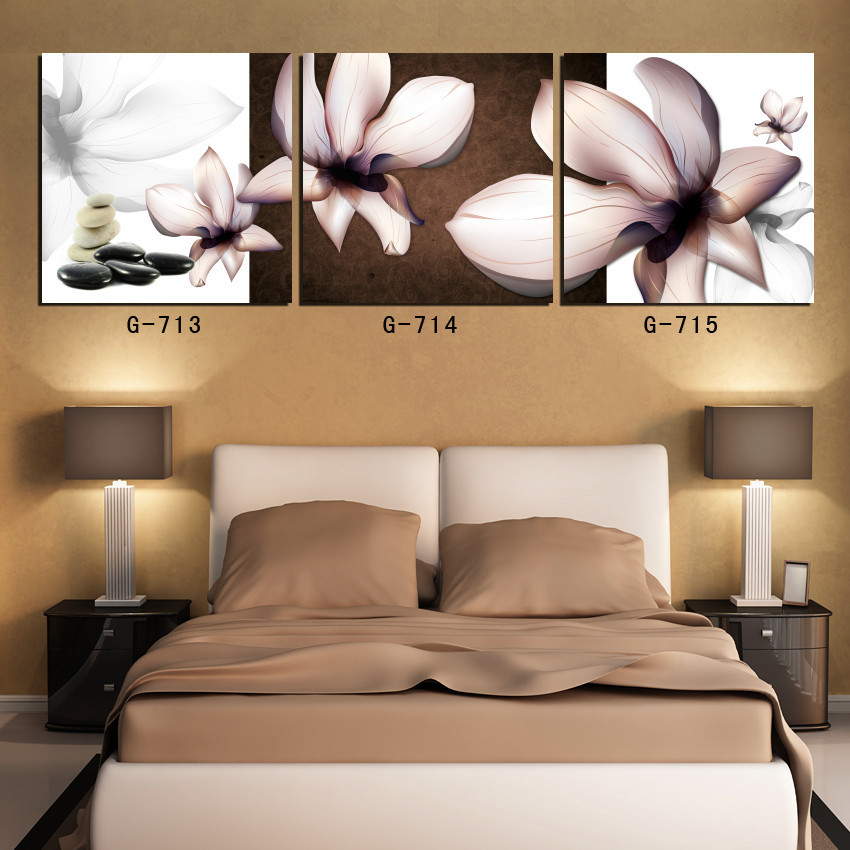 pintura decorativa pintura de orqudeas de color negro cubierta triple imprimir fotografas pintadas sala pasillo dormitorio